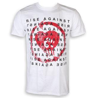tričko pánské Rise Against - Block - White - KINGS ROAD, KINGS ROAD, Rise Against