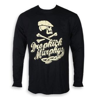 tričko pánské s dlouhým rukávem Dropkick Murphys - Scally Skull Ship - Black, KINGS ROAD, Dropkick Murphys