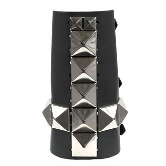 náramek 11 Row With Large Silver Pyramid Cross, NNM