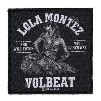 nášivka VOLBEAT - LOLA MONTEZ - RAZAMATAZ, RAZAMATAZ, Volbeat
