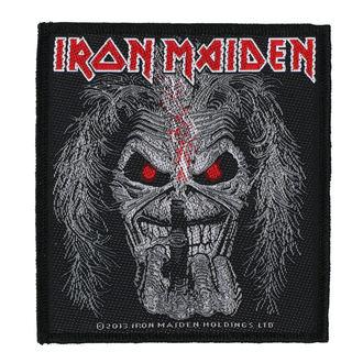 nášivka IRON MAIDEN - EDDIE CANDLE FINGER - RAZAMATAZ, RAZAMATAZ, Iron Maiden