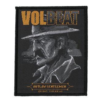nášivka VOLBEAT - OUTLAW GENTLEMEN - RAZAMATAZ, RAZAMATAZ, Volbeat