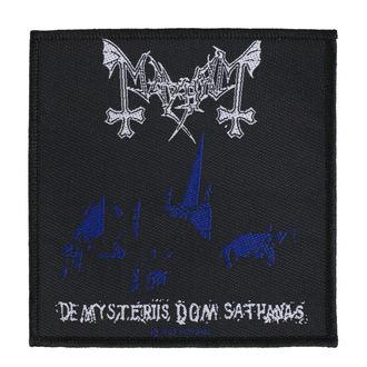 nášivka Mayhem - De Mysteriis Dom Sathanas - RAZAMATAZ, RAZAMATAZ, Mayhem
