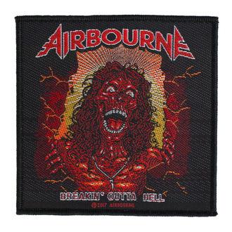 nášivka Airbourne - Breakin Outa Hell - RAZAMATAZ, RAZAMATAZ, Airbourne