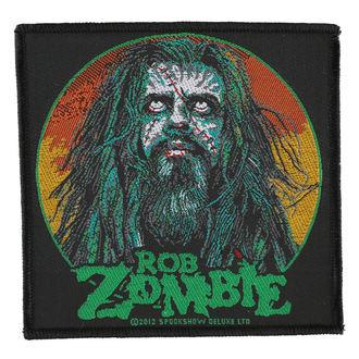 nášivka ROB ZOMBIE - ZOMBIE FACE - RAZAMATAZ, RAZAMATAZ, Rob Zombie