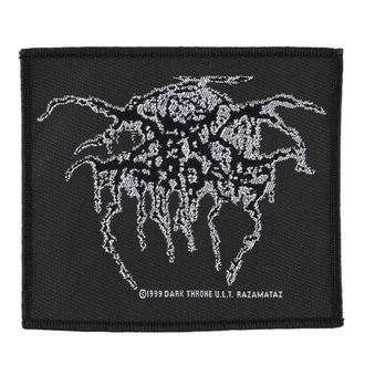 nášivka DARKTHRONE - LUREX LOGO - RAZAMATAZ - SP1403