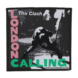 nášivka THE CLASH - LONDON CALLING - RAZAMATAZ, RAZAMATAZ, Clash