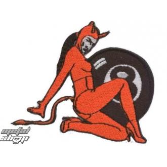 nášivka nažehlovací  Devil 2 - 67173-924