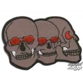 nášivka nažehlovací Lebka 9