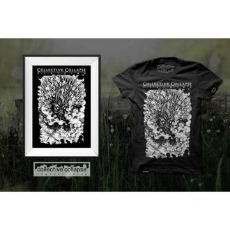 tričko pánské COLLECTIVE COLLAPSE - Needless - black - CCC012