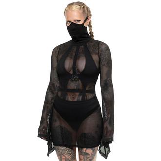 šaty dámské KILLSTAR - Neo Nyx Mask - Black, KILLSTAR
