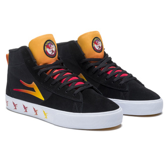 boty Lakai x Black Sabbath - Never Say Die - Newport Hi - black gradient suede, Lakai x Black Sabbath, Black Sabbath