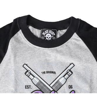 tričko dámské BLACK HEART - BH SHOT GUN - GREY - 010-0119-GRY