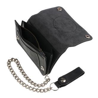 peněženka BLACK HEART - BASTARD SKULL - BLACK, BLACK HEART