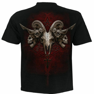 tričko pánské Spiral - FACES OF GOTH - Black, SPIRAL