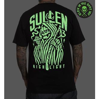 tričko pánské SULLEN - NIGHT LIGHT - BLACK, SULLEN