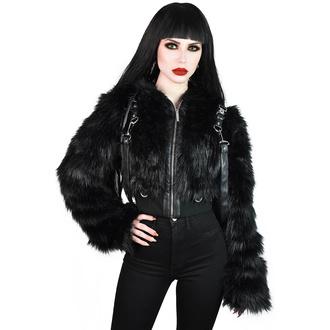 bunda dámská KILLSTAR - Night Creature Faux-Fur - KSRA002233