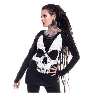 tričko dámské s dlouhým rukávem VIXXSIN - NIGHT STALKER - BLACK