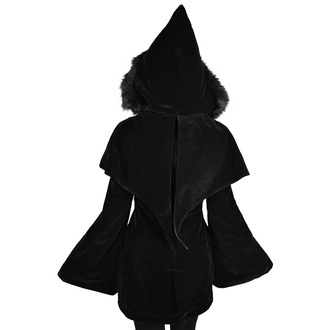 kabát dámský KILLSTAR - Nightfever Duffle, KILLSTAR