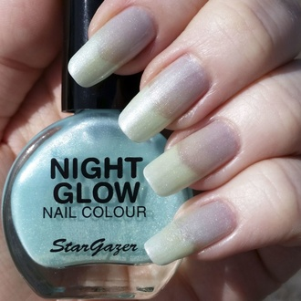 lak na nehty STAR GAZER - Glow In The Dark - Glow Jade, STAR GAZER