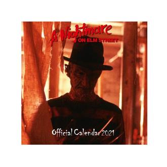 kalendář na rok 2021 - A NIGHTMARE ON ELM STREET, NNM, Noční můra z Elm Street