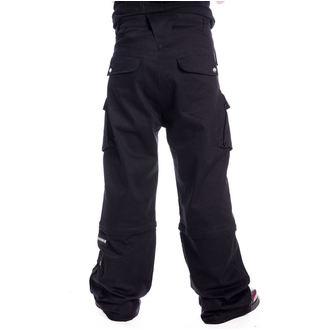 kalhoty pánské CHEMICAL BLACK - NIXON - BLACK, CHEMICAL BLACK