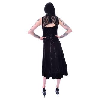 šaty dámské POIZEN INDUSTRIES - NOVA - BLACK, POIZEN INDUSTRIES