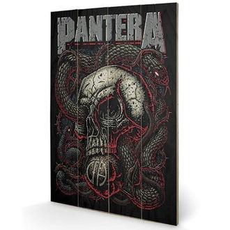 dřevěný obraz Pantera - (Snake Eye) - PYRAMID POSTERS, PYRAMID POSTERS, Pantera