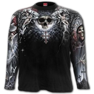 tričko pánské s dlouhým rukávem SPIRAL - LIFE AND DEATH CROSS - W032M304