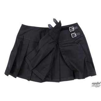 sukně dámská Black Pistol - Buckle Mini Denim - Black
