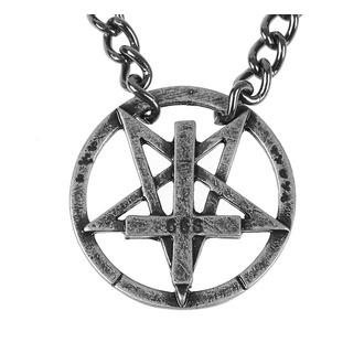 obojek Pentagram, Leather & Steel Fashion