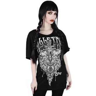 tričko dámské KILLSTAR - Wolfsword Relaxed - BLACK - KSRA001868