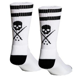 ponožky pánské SULLEN - HIGH BAR - WHITE, SULLEN