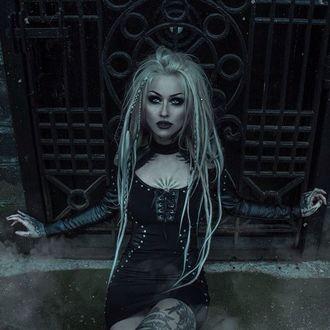 šaty dámské KILLSTAR - IMOGEN - BLACK