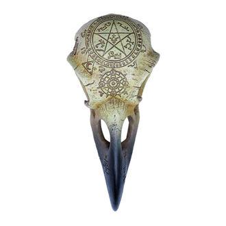 dekorace ALCHEMY GOTHIC - Omega Raven Skull, ALCHEMY GOTHIC