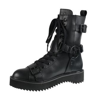 boty dámské KILLSTAR - Eris Combat - BLACK, KILLSTAR