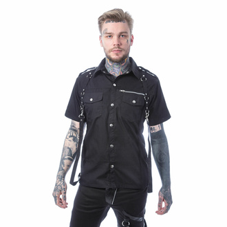 košile pánská VIXXSIN - ORSON - BLACK, VIXXSIN