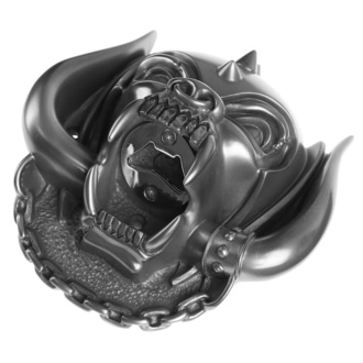 otvírák (nástěnný) Motörhead - Snaggletooth (Gun Metal Finish) - BEER BUDDIES, BEER BUDDIES, Motörhead