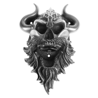 otvírák (nástěnný) Viking - Skull (Silver Finish) - BEER BUDDIES, BEER BUDDIES