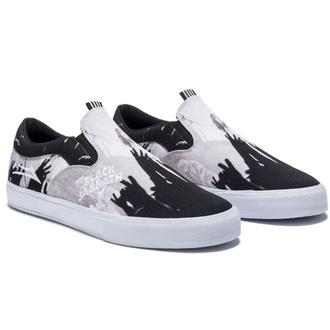 boty Lakai x Black Sabbath - Master of Reality - Owen VLK -  black white canvas - ms4200232a03-blkwc