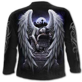 tričko pánské s dlouhým rukávem SPIRAL - INNER SORROW - Black, SPIRAL