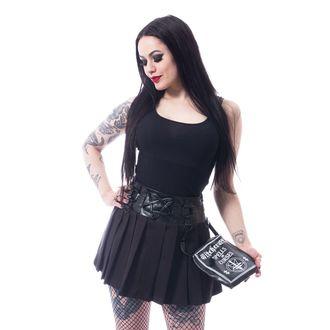 sukně dámská HEARTLESS - PENTAGRAM - BLACK