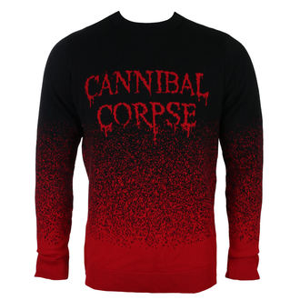 svetr pánský CANNIBAL CORPSE - DRIPPING LOGO - PLASTIC HEAD, PLASTIC HEAD, Cannibal Corpse