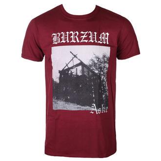 tričko pánské BURZUM - ASKE (MAROON) - PLASTIC HEAD, PLASTIC HEAD, Burzum