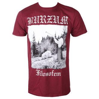 tričko pánské BURZUM - FILOSOFEM 2018 (MAROON) - PLASTIC HEAD, PLASTIC HEAD, Burzum