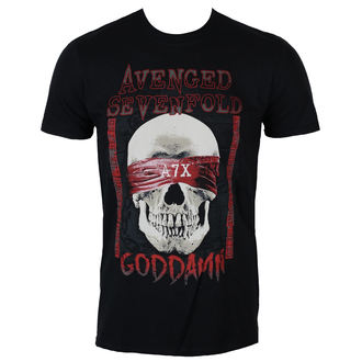 tričko pánské AVENGED SEVENFOLD - GODDAMN - PLASTIC HEAD, PLASTIC HEAD, Avenged Sevenfold