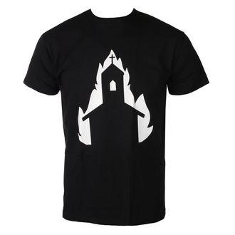 tričko pánské BURNING CHURCH - symbol 3 - TS-077