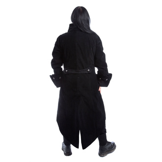 kabát pánský POIZEN INDUSTRIES - PIRATE - BLACK VELVET, POIZEN INDUSTRIES