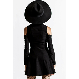 tričko dámské s dlouhým rukávem KILLSTAR - Play D Cad Turtleneck - Black, KILLSTAR