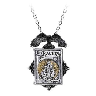 obojek ALCHEMY GOTHIC - Poe's Raven Locket, ALCHEMY GOTHIC